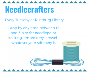 Needlecrafters - Rustburg @ Rustburg Library | Rustburg | Virginia | United States