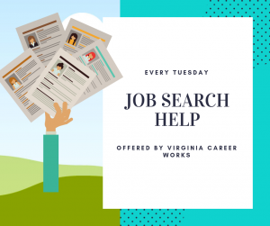 Virginia Career Works Job Search Help - Timbrook @ Timbrook Library | Lynchburg | Virginia | United States
