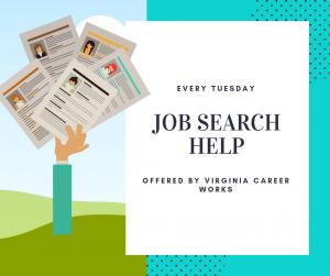 Virginia Career Works Job Search Help - Brookneal @ Patrick Henry Memorial Library | Brookneal | Virginia | United States
