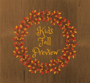 Kids Fall Preview - Brookneal @ Patrick Henry Memorial Library | Brookneal | Virginia | United States