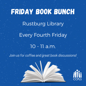 Friday Book Bunch - Rustburg @ Rustburg Library | Rustburg | Virginia | United States