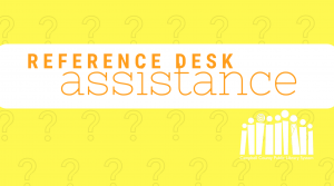 Reference Desk Assistance - Altavista @ Staunton River Memorial Library | Altavista | Virginia | United States