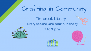 Crafting in Community - Timbrook @ Timbrook Library | Lynchburg | Virginia | United States