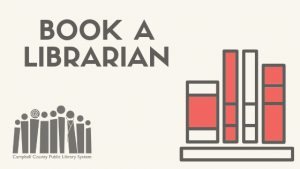 Book a Librarian - Altavista @ Staunton River Memorial Library
