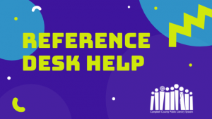 Reference Desk Assistance - Rustburg @ Rustburg Library | Rustburg | Virginia | United States