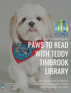 Paws to Read - Timbrook @ Timbrook Library