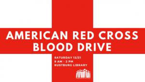 American Red Cross Blood Drive - Rustburg @ Rustburg Library