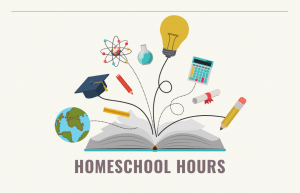 graphic with name of event Homeschool Hours