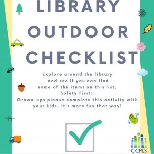 outdoor checklist
