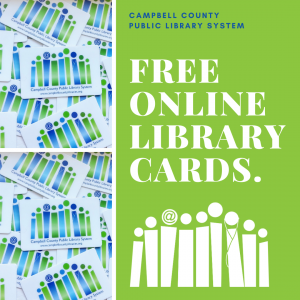 Free online library cards