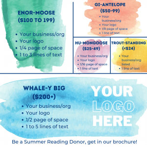 Summer Reading Donor Page View