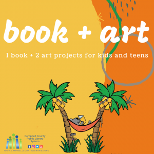 book + art: 1 book + 2 art projects for kids and teens