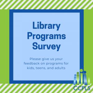 Library Programs Survey
