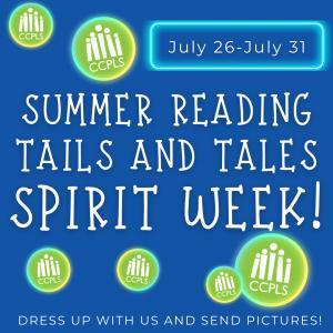 CCPLS Spirit Week: Summer Reading 2021