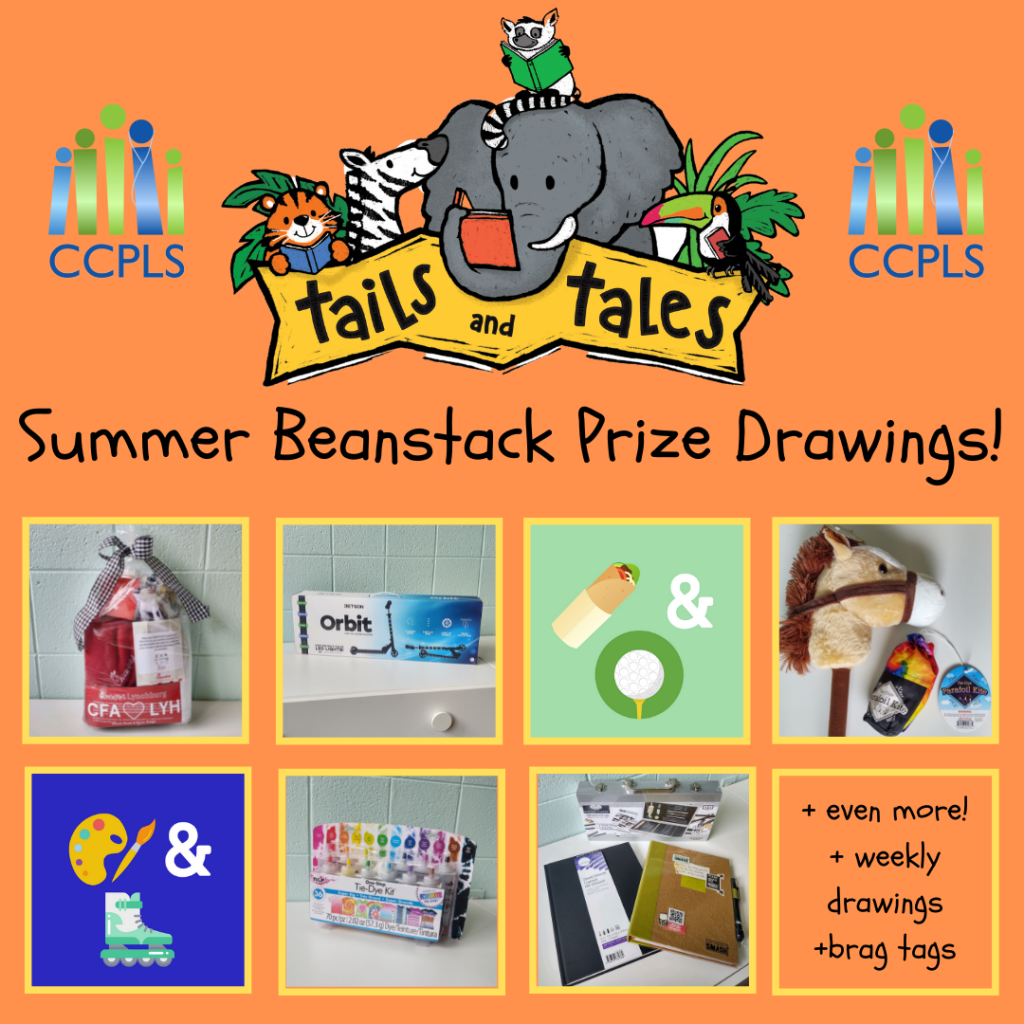 Summer Beanstack Prize Drawings