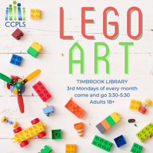LEGO Art for Adults - Timbrook @ Timbrook Library