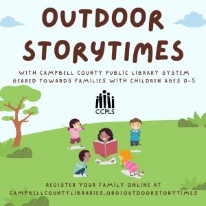 Outdoor Storytimes: Session B - Rustburg @ Rustburg Library