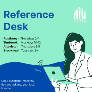 Reference Desk - Timbrook @ Timbrook Library