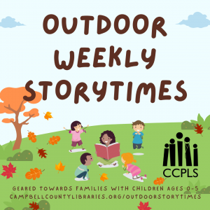 graphic for Outdoor Weekly Storytimes