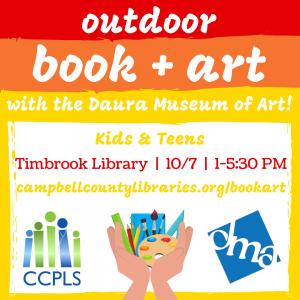 Outdoor Book + Art - Timbrook @ Timbrook Library