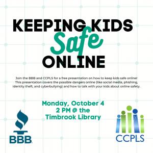 Keeping Kids Safe Online - Timbrook @ Timbrook Library