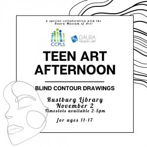 Teen Art Afternoon - Rustburg @ Rustburg Library