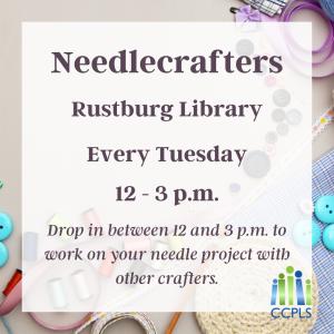 Needlecrafters - Rustburg @ Rustburg Library