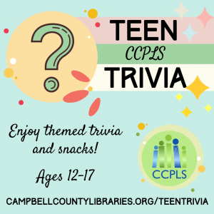 Teen Trivia - Rustburg @ Rustburg Library
